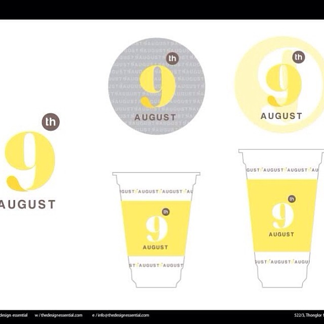 9th august  logo and packaging