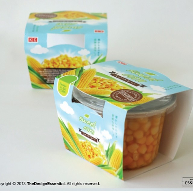 ออกแบบ packaging ให้ผลิตภัณฑ์ข้าวโพดส่งออก