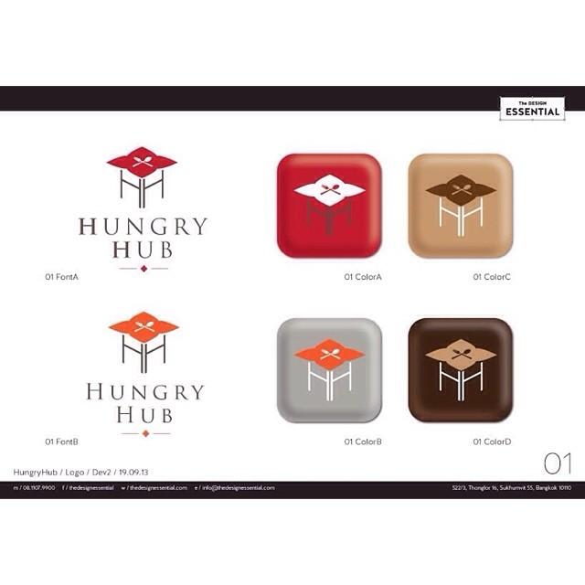ออกแบบโลโก้สำหรับ application จองร้านอาหาร online